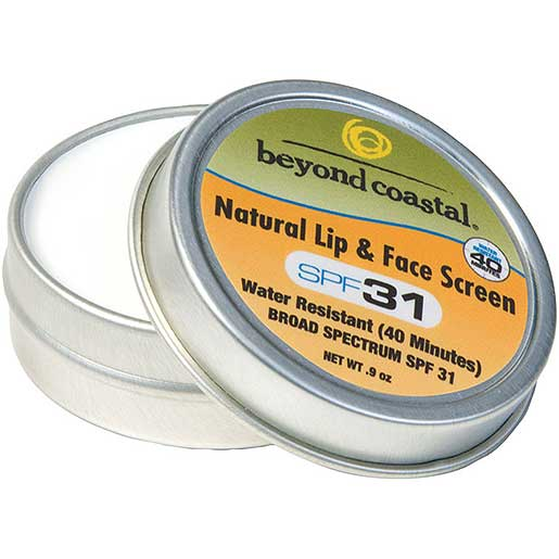 Beyond Coastal SPF 31 Natural Lip and Face Sunscreen Sale $9.99 SKU: 16362154 ID# 15013 UPC# 94922652461 :