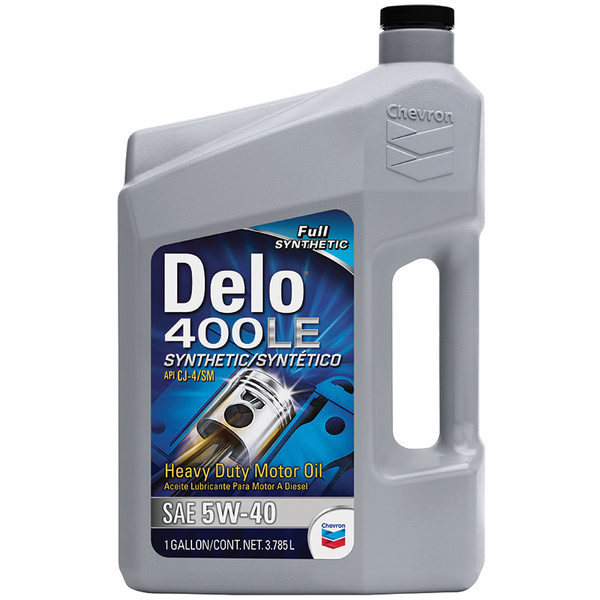 Chevron Delo 400LE Synthetic Engine Oil, SAE 5W-40, Gallon Sale $39.99 SKU: 16371387 ID# 271207339 UPC# 23968391454 :