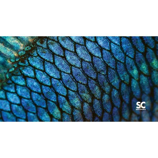 Sportncare Fish Scales Beach Towel, 60L x 30x9DW