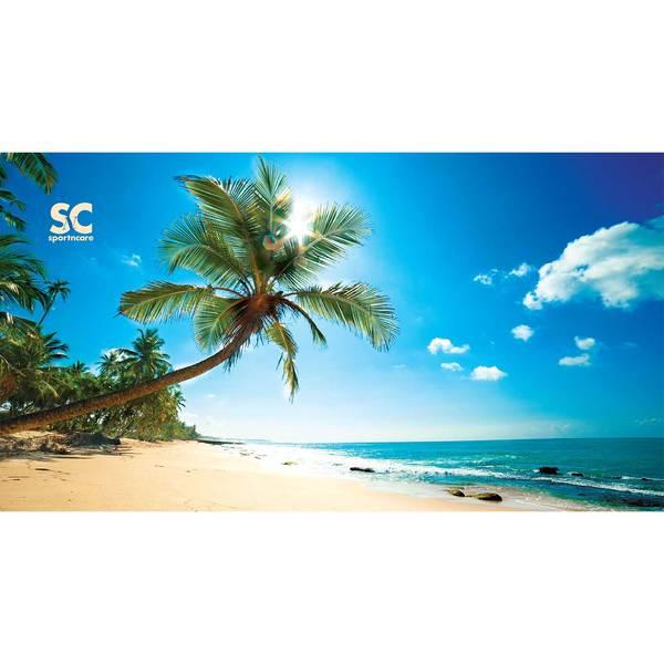 Sportncare Beach Palm Tree Beach Towel, 60L x 30x9DW