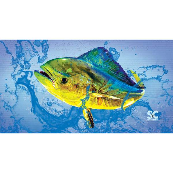 Sportncare Dolphinfish Beach Towel, 60L x 30x9DW
