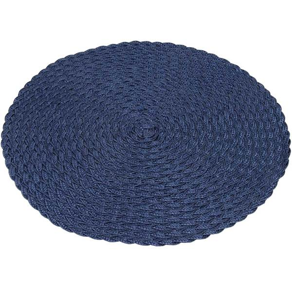 Knack3 Braided Placemat, Blue