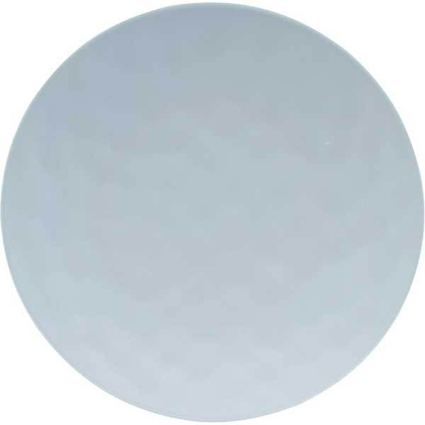 Knack3 Indigo Pale Blue Dimpled Dinner Plate