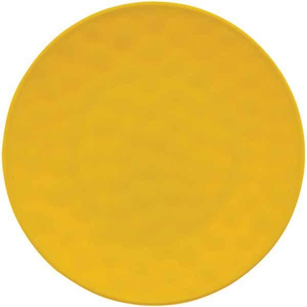 Knack3 Indigo Mustard Dimpled Dinner Plate