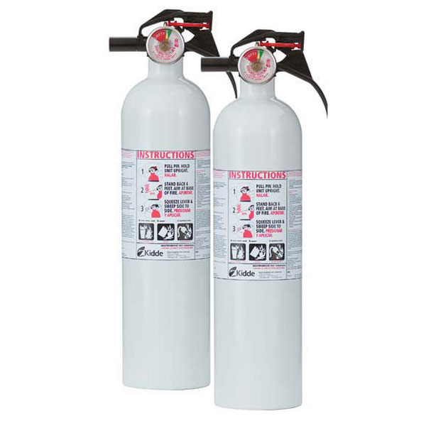 Kidde Mariner Fire Extinguisher 110 Twin Pack