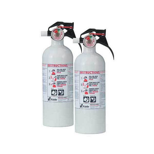 Kidde Mariner 5 Dry Chemical Fire Extinguisher Twin-Pack