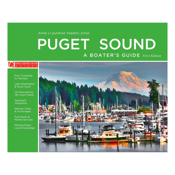 Paradise Cay Puget Sound Boater's Guide Sale $49.99 SKU: 16446270 ID# DPL001 :