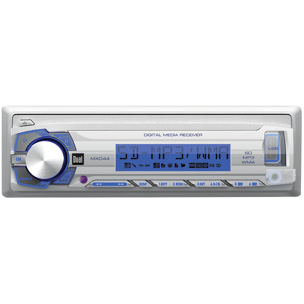 DUAL MXD44 Stereo Receiver
