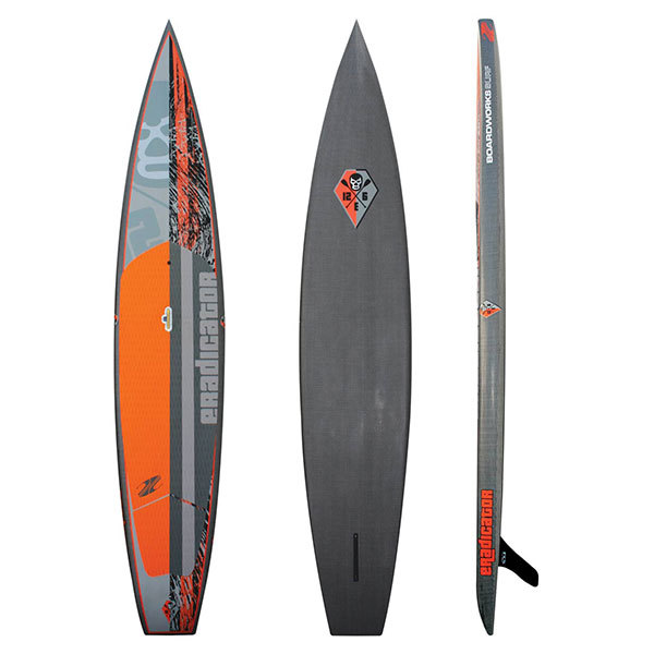 Boardworks 12'6 Eradicator Race, Carbon Innegra Stand-Up Paddleboard