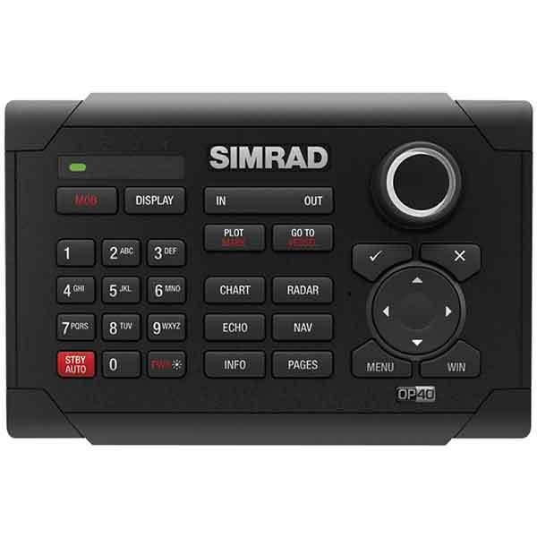 Simrad OP40 Wired Remote Controller with Micro-C extension cable and T-joiner