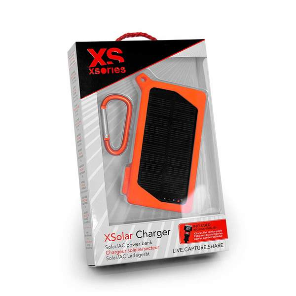 Xsories XSolar dual USB/Solar Rechargeable Power Bank