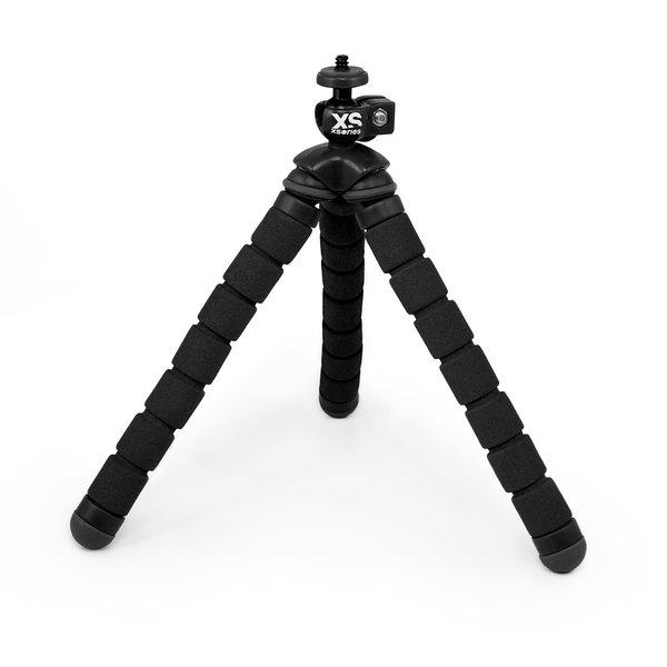 Xsories Bendy Monochrome Flexible Tripod, Black