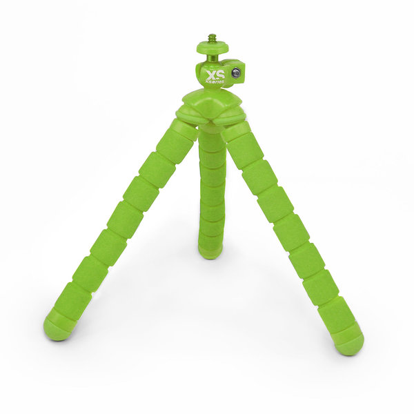 Xsories Bendy Monochrome Flexible Tripod, Green