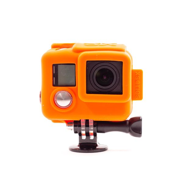 Xsories Silicone Cover HD4, Orange Sale $23.99 SKU: 16478729 ID# SILG3+-100958 :
