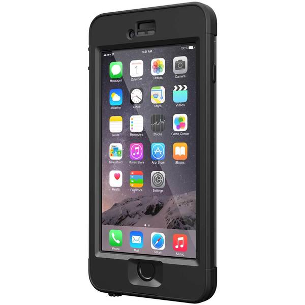 Lifeproof iPhone 6 Plus nuud Case, Black