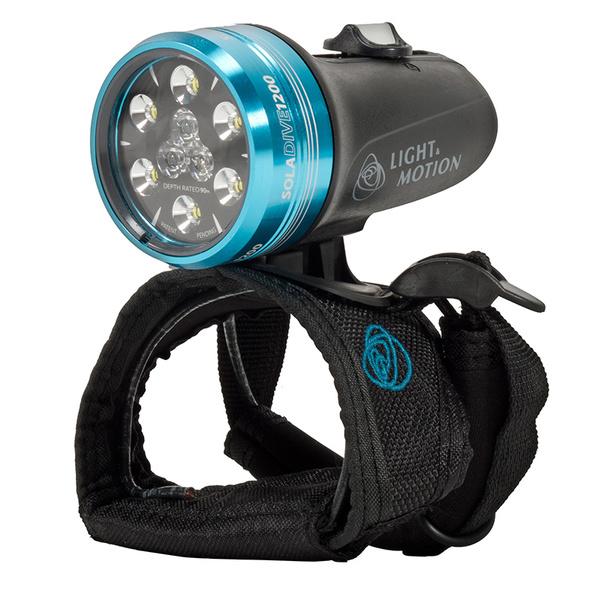 Light & Motion Industries SOLA 1200 Dive Spot/Flood Light, Black