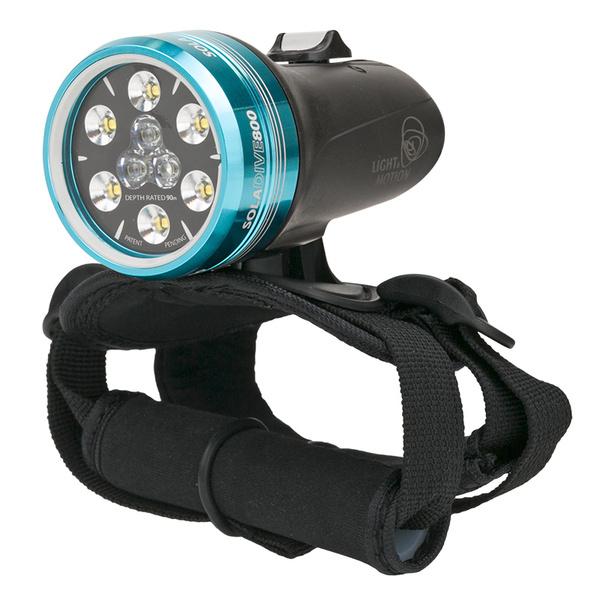 Light & Motion Industries SOLA 800 Dive Spot/Flood Light, Black
