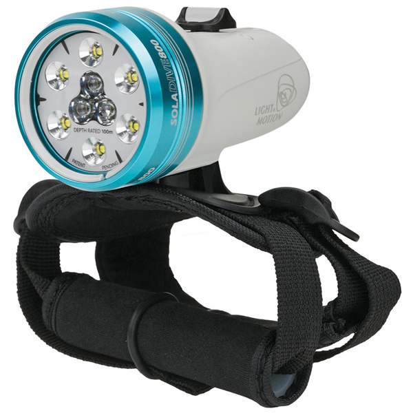 Light & Motion Industries SOLA 800 Dive Spot/Flood Light, White