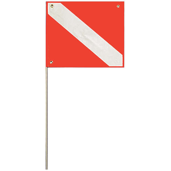 Trident 20 x 24 Kayak Dive Flag with 45 Pole