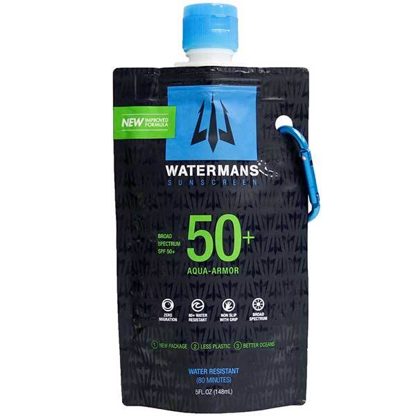 Watermans SPF 50+ Aqua Armor Sunblock, 5oz.