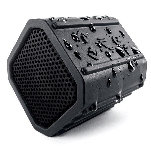 Ecoxgear ECOPEBBLE Waterproof Bluetooth Speaker, Black