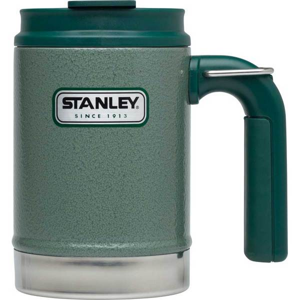 Stanley Classic Vacuum Camp Mug, Green, 16oz. Sale $26.99 SKU: 16583809 ID# 10-01693-001 UPC# 41604258640 :