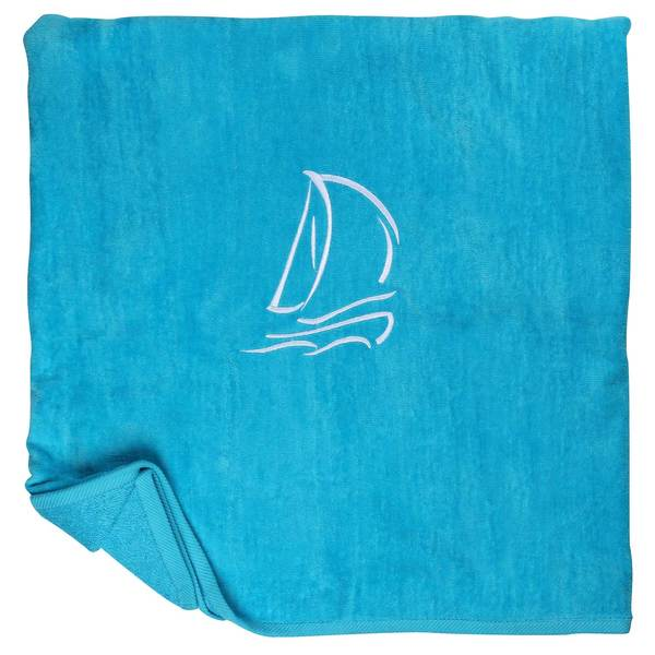 Cotton Love Set Sail Towel, Turquoise Sale $14.88 SKU: 16585119 ID# 34X70VC-TURQ UPC# 874463001061 :