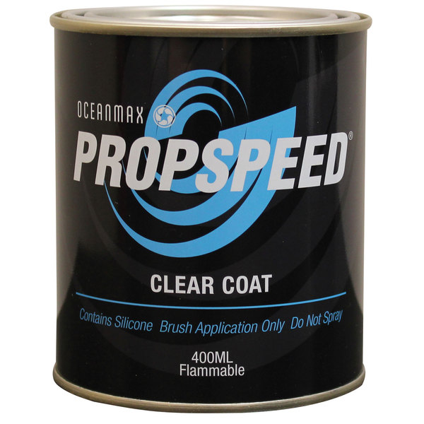 Oceanmax Propspeed Clear Coat, 400ml.