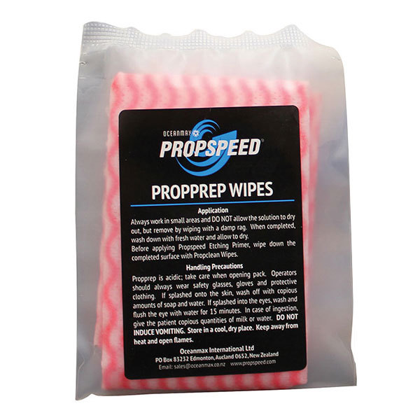Oceanmax Propspeed Propprep Wipes, 10-Pack