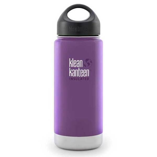 Klean Kanteen Vacuum Insulated Wide, 16 oz., Wild Grape