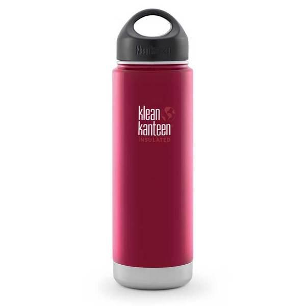Klean Kanteen Vacum Insulated Wide Bottle, 20 oz., Roasted Pepper