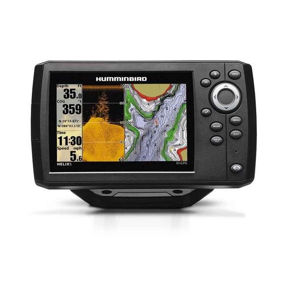 Sale on humminbird helix 5 down imaging sonar gps for Humminbird helix 5 ice fishing