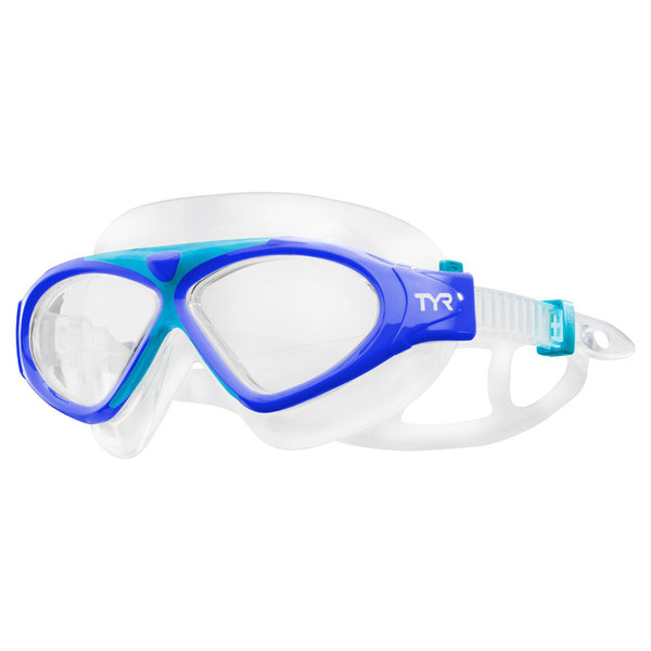 TYR Kid's Magna Mask Swim Goggle, Blue