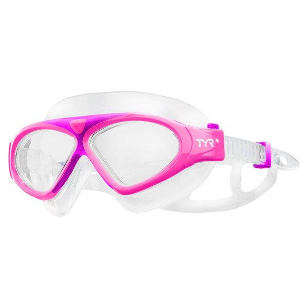 TYR Kid's Magna Mask Swim Goggle, Pink
