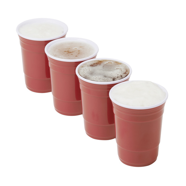 Red Cup Living 5 oz. Cups - Set of 4