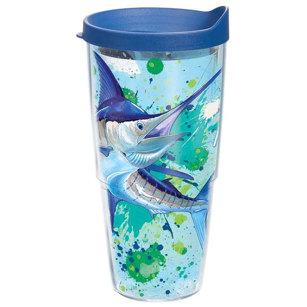 Tervis Marlin Splash Tumbler, 24 oz. with Lid Sale $19.99 SKU: 16704454 ID# 1168628 UPC# 93597881435 :