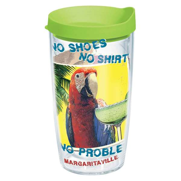 Tervis Margaritaville No Problem Tumbler, 16 oz. with Lid