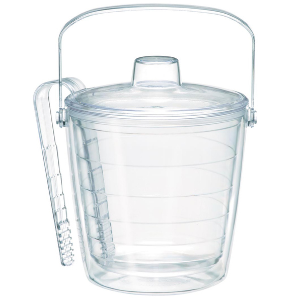 Tervis Clear Ice Bucket with Tongs