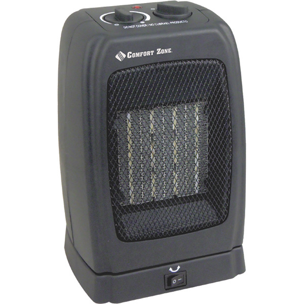 Comfort Zone Oscillating Ceramic Heater/Fan Sale $29.99 SKU: 16721920 ID# CZ448 UPC# 75877004482 :