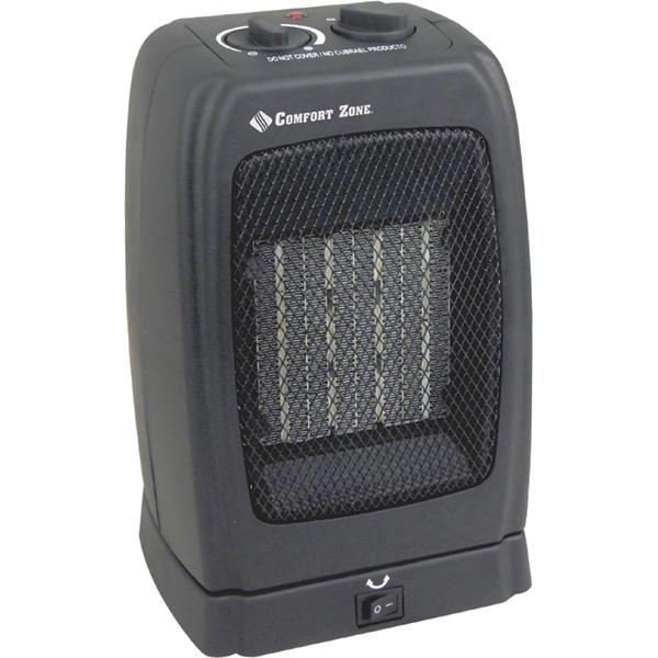 Comfort Zone Oscillating Ceramic Heater Fan West Marine
