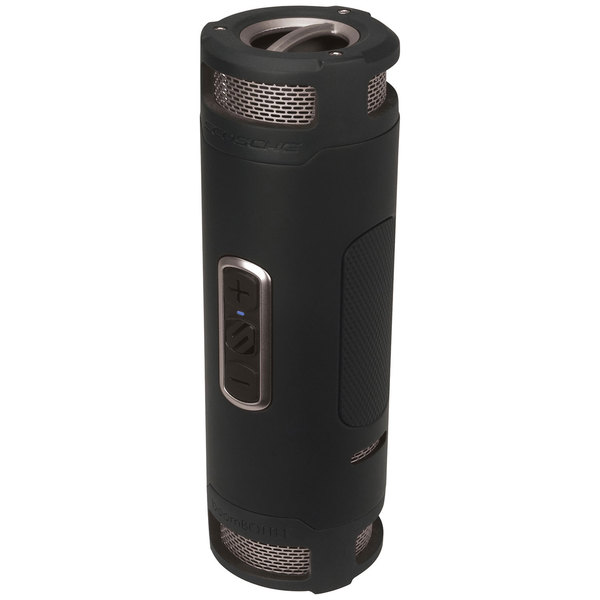 Scosche boomBOTTLE + Black/Gray