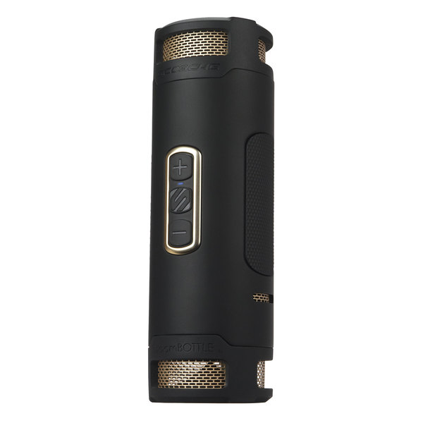 Scosche boomBOTTLE + Black/Gold