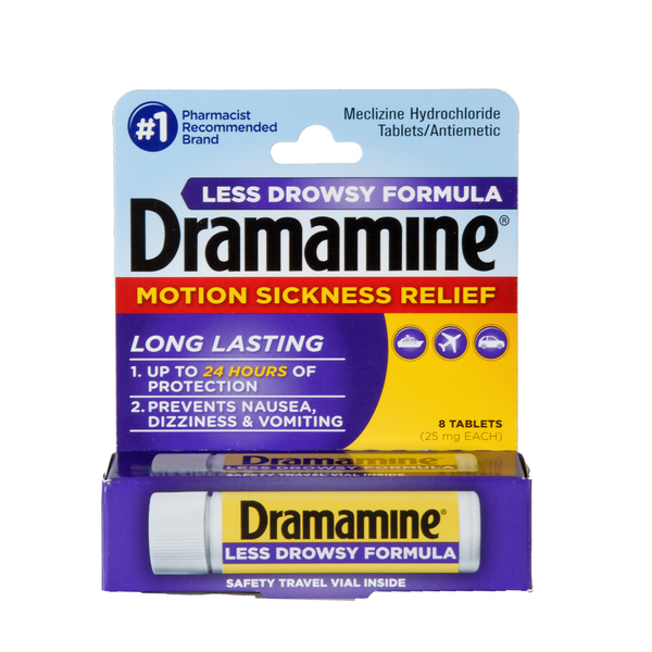 Dramamine All Day Less Drowsy