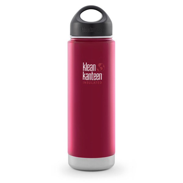 Klean Kanteen Vacuum Insulated Wide 20 oz., Red
