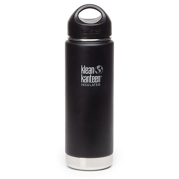Klean Kanteen 20 Oz. Wide Vacuum Insulated, Black