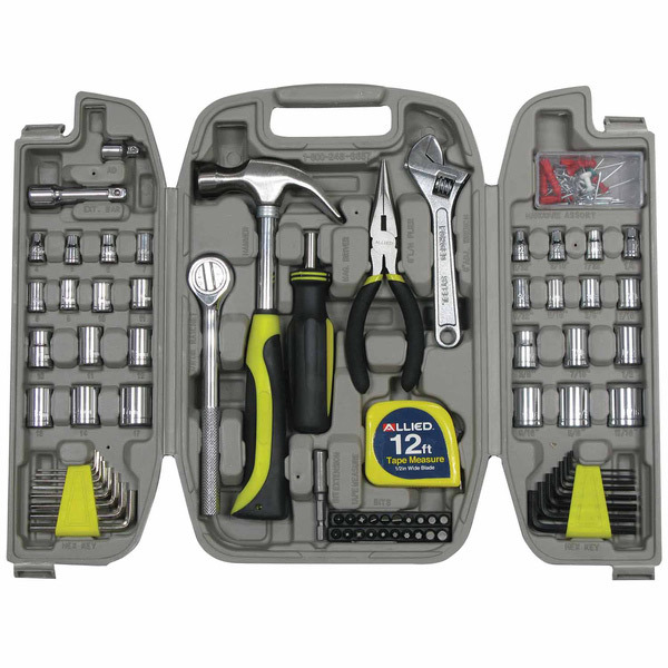 Allied 120pc Home Repair Tool Set