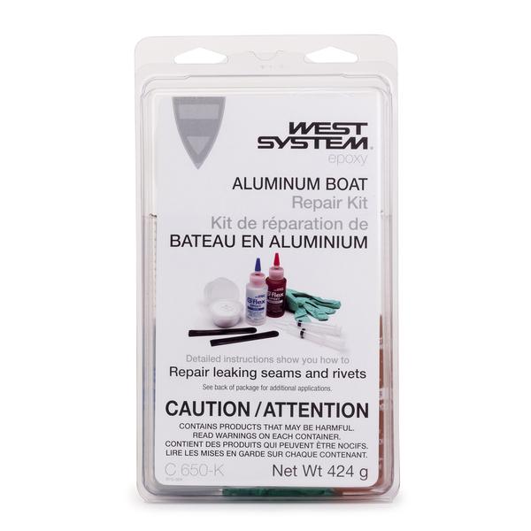 West System Aluminum Boat Repair Kit (CA)