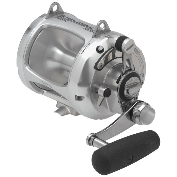 PENN International VW 50 Silver Conventional Fishing Reel