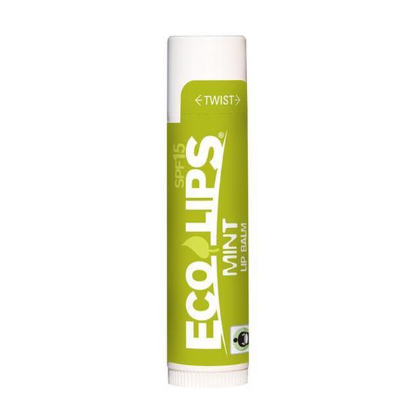 Eco Lips Mint Lip Balm, SPF 15