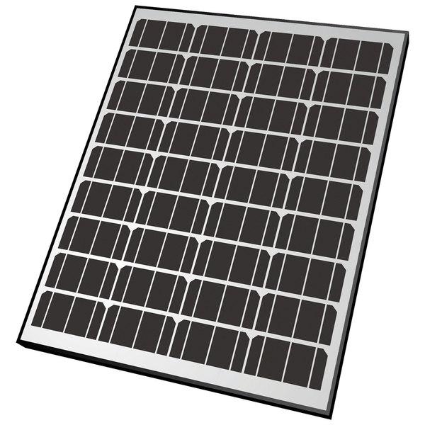 Rdk Products Rigid Monocrystalline Solar Panel—90 Watts